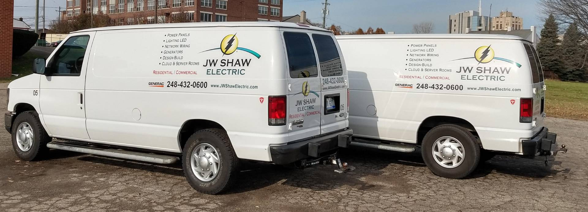 JW Shaw Electric.